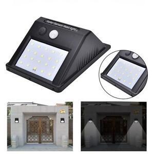 20-LED-Solar-Power-IR-Motion-Sensor-Wall-Light-Outdoor-Waterproof-Garden-Lamp-BR