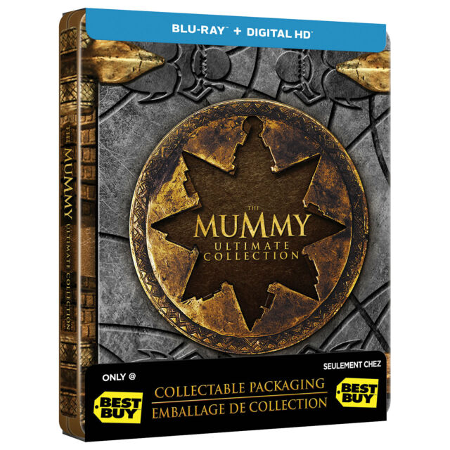 La Momia Ultimate Collection [blu-ray + DIGITAL HD Best Buy Steelbook Región a]