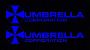 2X-Blue-Umbrella-Corporation-Hive-Resident-Evil-Vinyl-Sticker-Car-Window-Decal