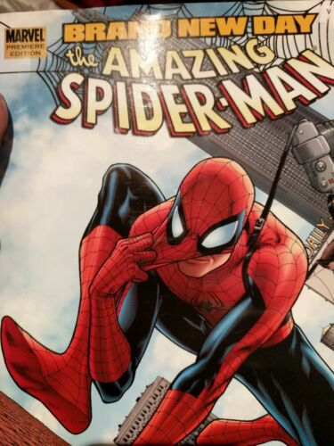 Amazing SpiderMan Brand New Day, Vol. 1 Hardcover Comic Book Marvel, Gift