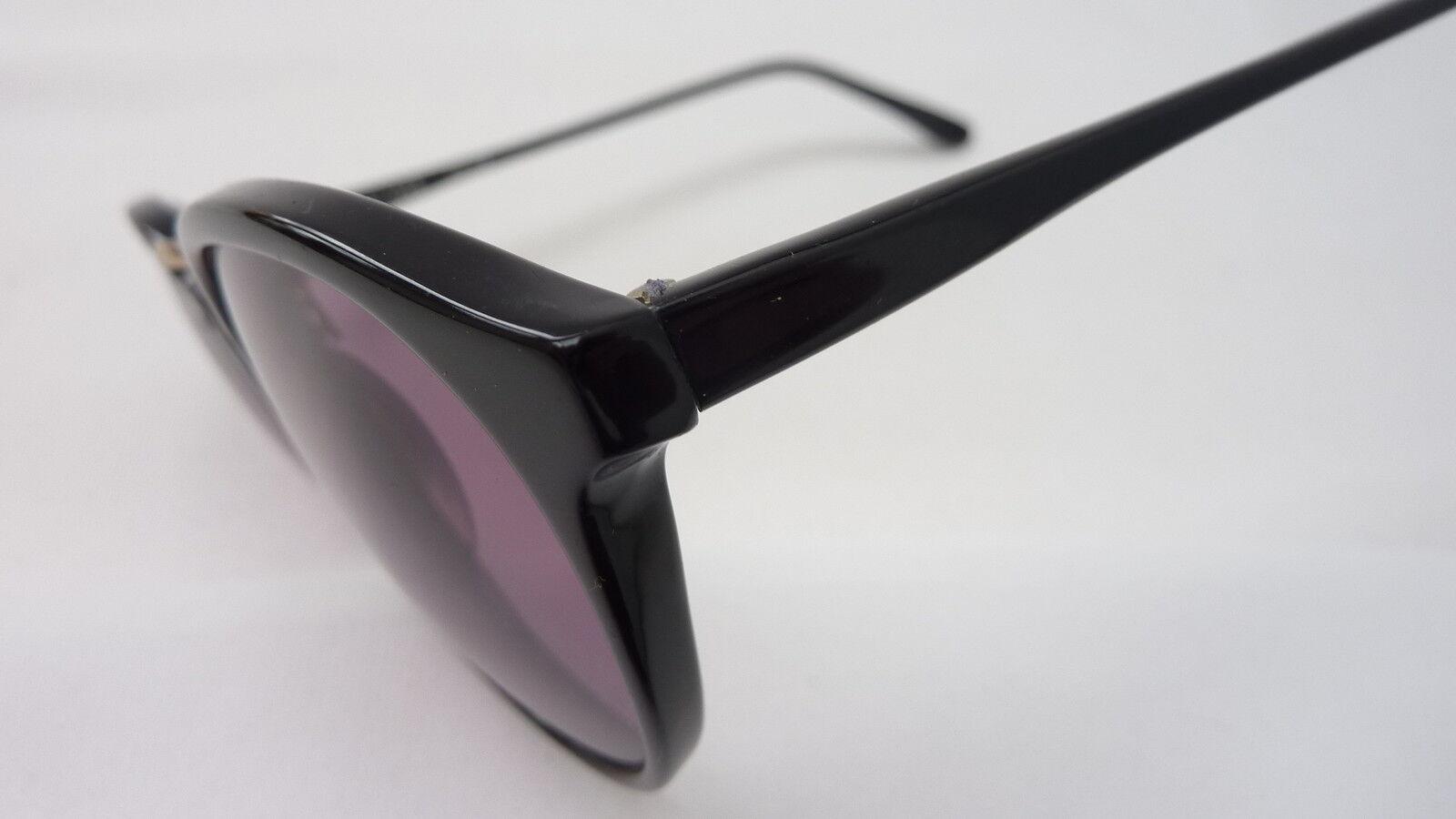 Neue Neue Neue True Vintage Sonnenbrille Pantoform Metallsteg schwarz Optikerware Größe M | Shop  3326fe