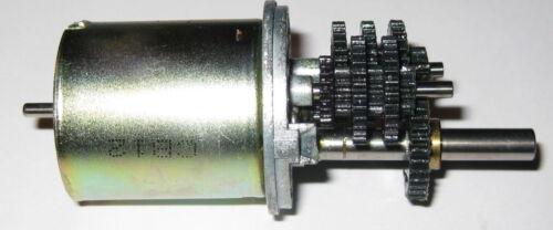 6 RPM Compact High Torque Metal Gearhead DC Motor 12 VDC Low Speed 2RPM @ 4V