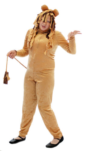 WIZARD OF OZ King of the jungle LION Fancy Dress costume all AGES /& SIZES