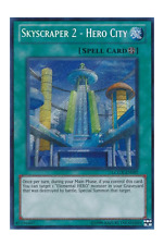 YuGiOh Card - Skyscraper 2 Hero City LCGX-EN097 Secret Rare (NM)
