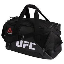 Reebok Combat Grip UFC Fitness & Training Duffle Sport Bag Large Unisex Black