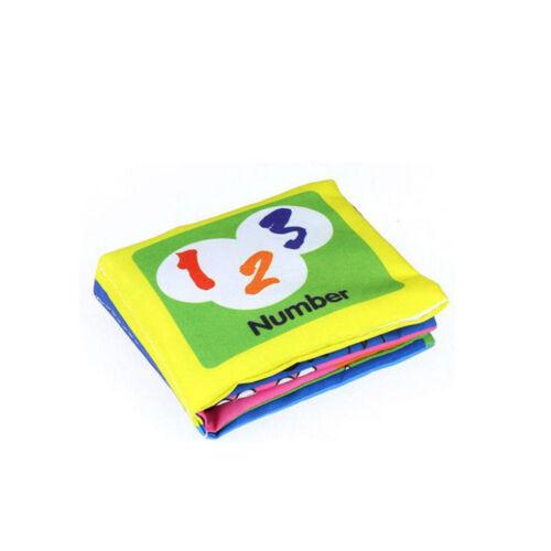 Intelligence Play Educational Toys Kid Developmental Boy Girl Baby Cloth Book