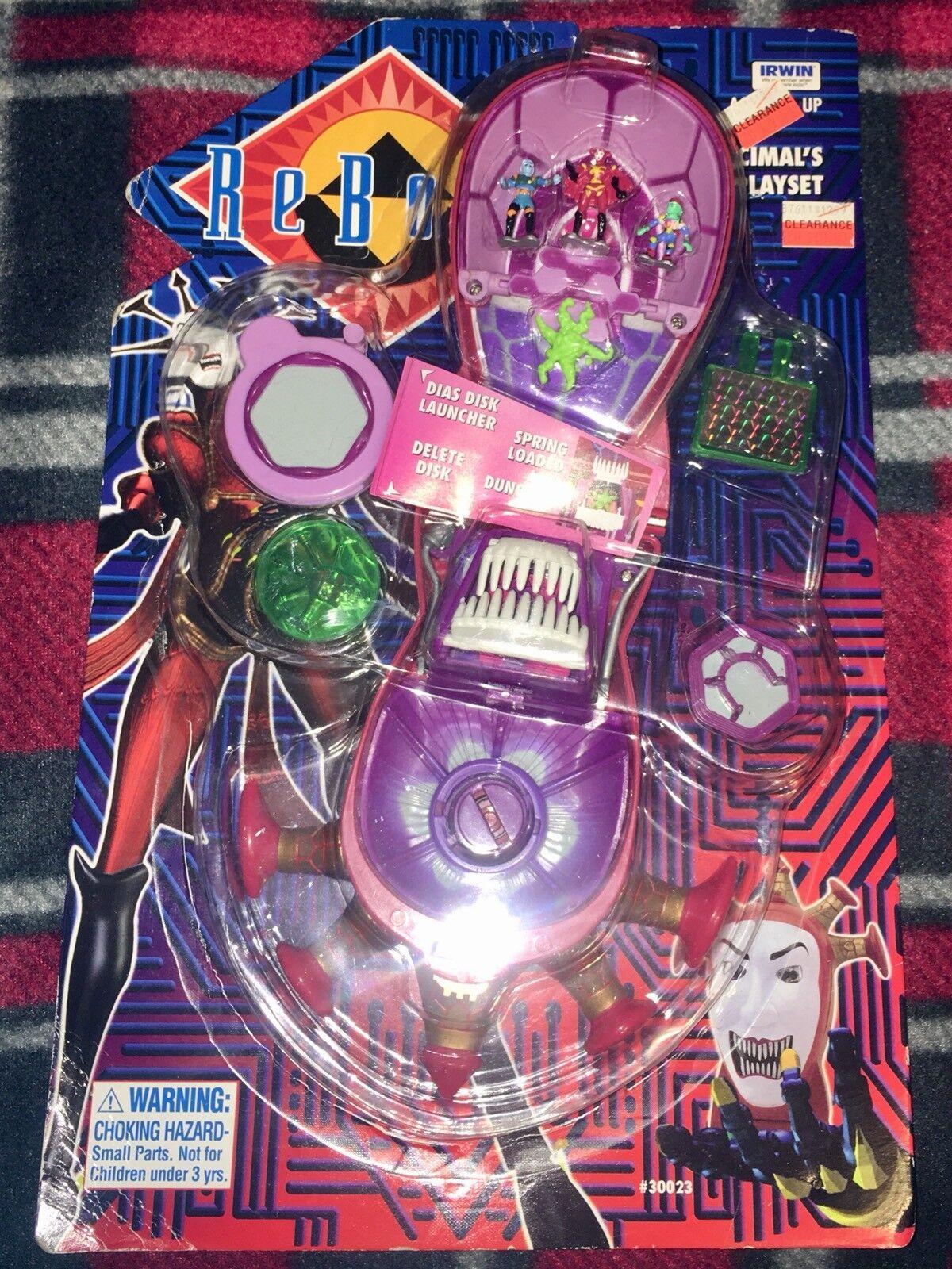ReStiefel 1995 NEW Hexadecimal's Lair Playset  30023 Irwin Micro Toy HTF RARE OOP