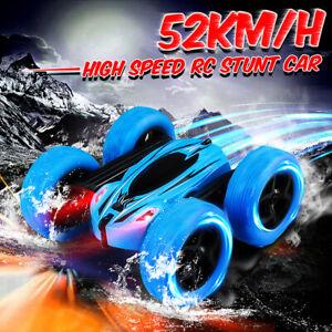 Ferngesteuert-360-RC-mit-Licht-STUNT-Spielzeug-Auto-Fernbedienung