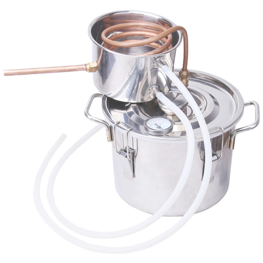 2 3 5 8 Gal Alcohol Ethanol Still Spirits Boiler Water Distiller Distillation