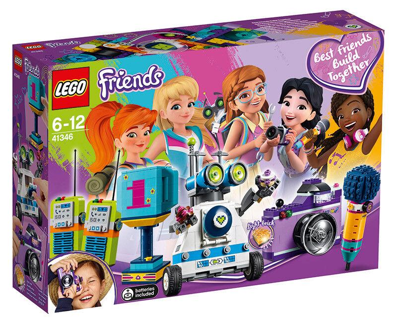 LEGO Friends - La boîte de l'Amitié - 41346 - Jeu de Construction LEGO