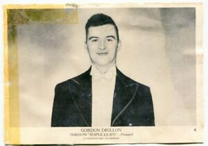 1939/40 OPC Gordon Drillon Card #4 Toronto Maple Leafs