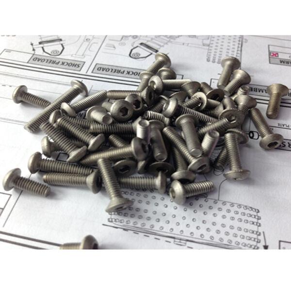Titanium Screw For Xray XB8 2016
