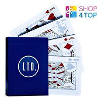 ELLUSIONIST LTD BLUE LIMITED BICYCLE PLAYING CARDS DECK MAGIC TRICKS USPCC NEW