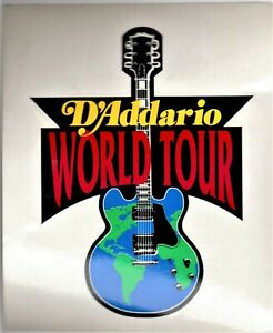 D-039-ADDARIO-Advertising-Sticker-034-WORLD-TOUR-034-NEW-OLD-STOCK-FREE-POSTAGE