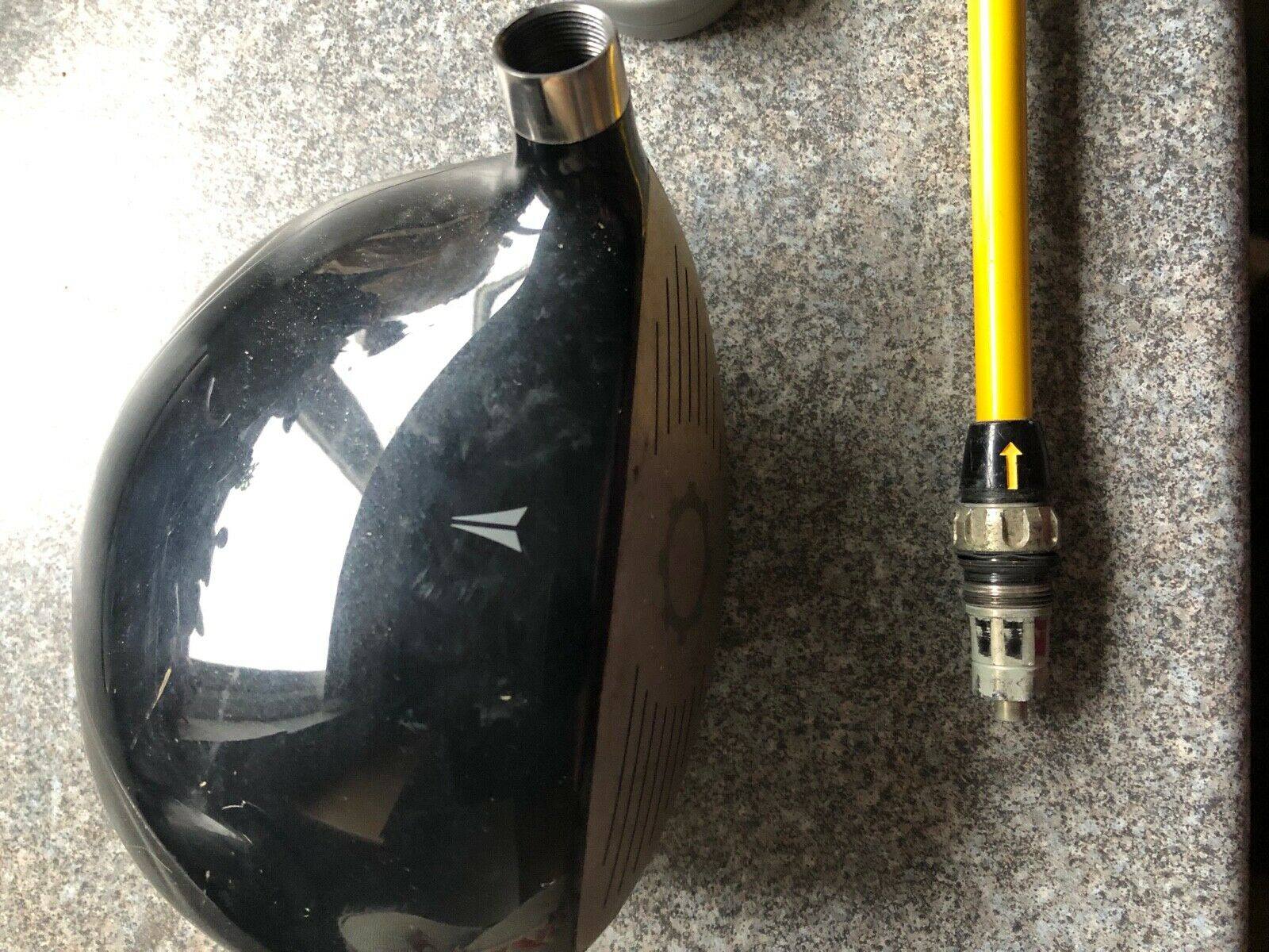 Nike Sq Dymo controlador STR8-FIT 9.5 grados projootipo Muy Raro