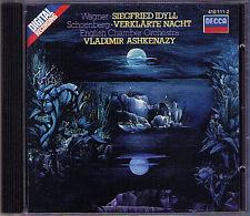 ASHKENAZY: SCHOENBERG Verklärte Nacht WAGNER Siegfried Idyll CD Vladimir DECCA