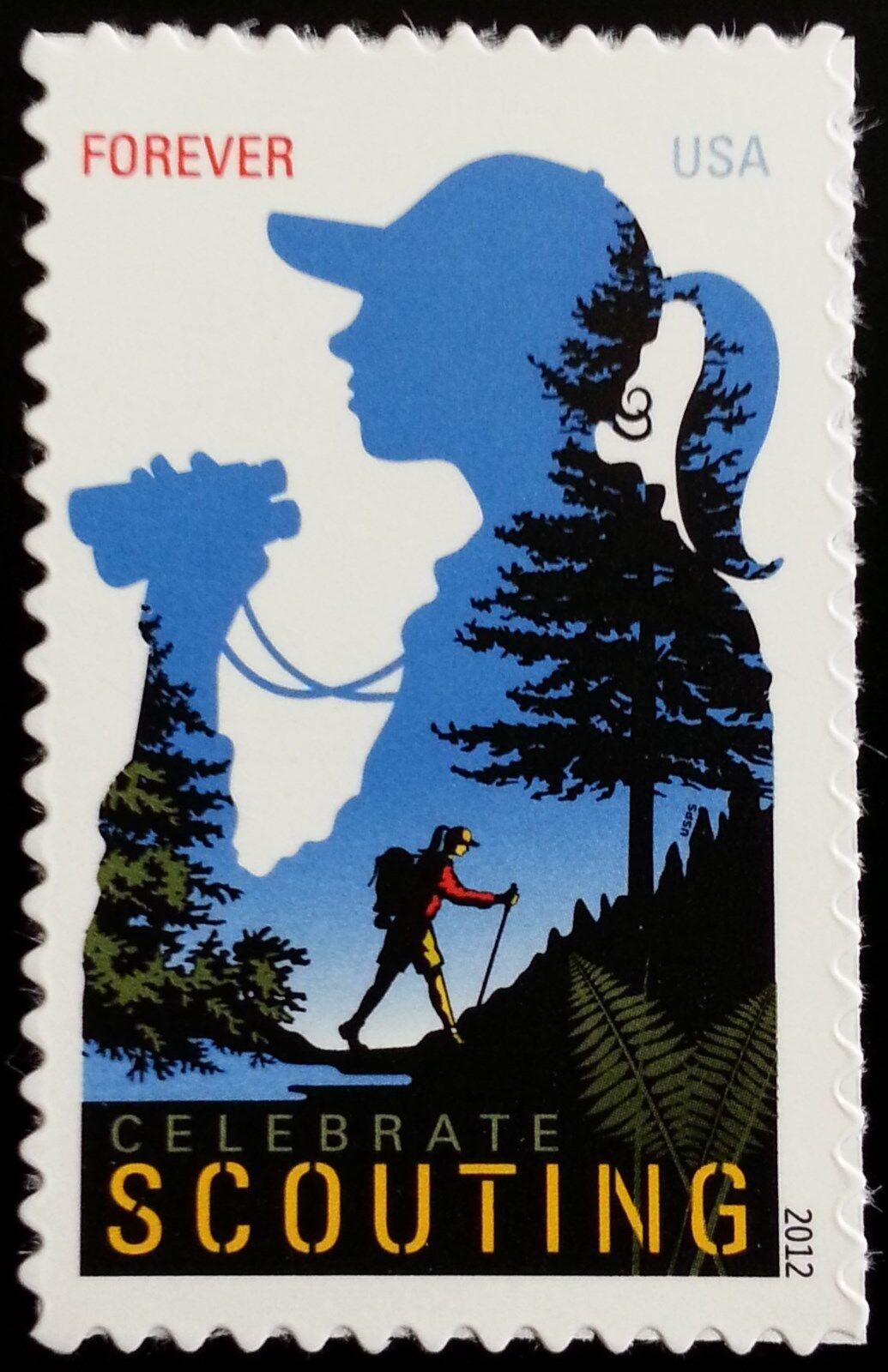 2012 45c Celebrate Scouting Scott 4691 Mint F/VF NH
