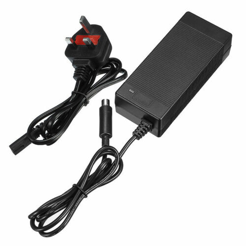 Battery Charger Adapter For Xiaomi Mijia M365 Electric Scooter UK Plug DC 42V