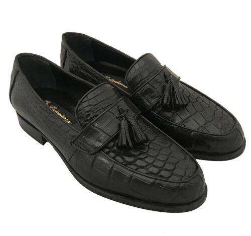 5 Herren Alligator Kleid Slip 7 Schuhe 1 Müßiggänger Crocodile 2 Exotische On Penny 7 RwUwx