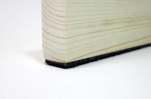 Filzband anthrazit ab 1m stark selbstklebend Filzstreifen 15mm 3mm dick