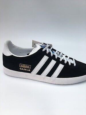 Adidas Original Gazelle OG Baskets Black Brand New in Box G13265 | eBay