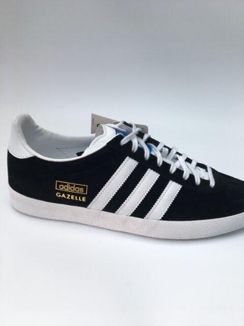 adidas original Gazelle OG Trainers Black Brand New In Box - G13265