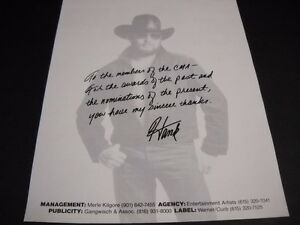 HANK WILLIAMS JR. Thank You CMA For All The Awards ...