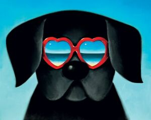 Sun-Sea-and-Sunglasses-I-by-Doug-Hyde-Mounted-Limited-Edition-Print