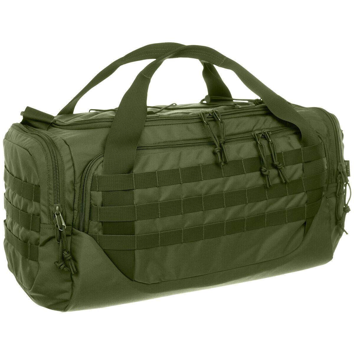 Wisport Stork Borsa Militare MOLLE Caccia PALS Esercito Softair Olive verde