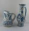 縮圖 2 - Set de 2 Jarras de Ceramica de MANISES Benlloch craquelada.  Años 60 VINTAGE