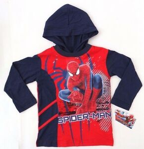 c4cf0ca5c7a Image is loading Marvel-Spider-Man-Boy-039-s-Sweatshirt-Hoodie-