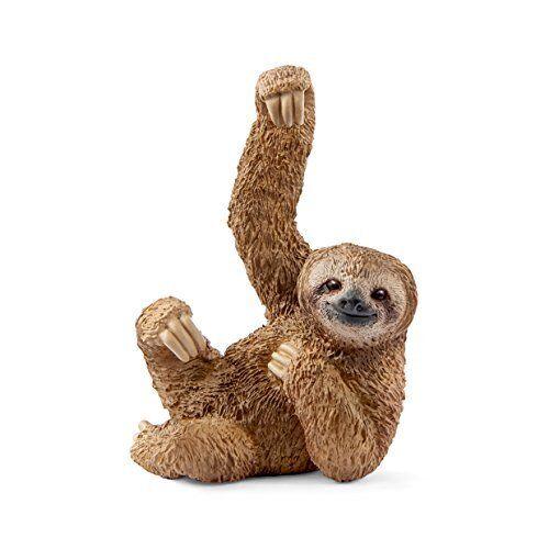 Schleich 14793 Wild Life Sloth Toy