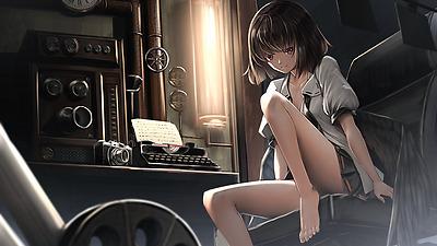 Anime Touhou Aya Shameimaru Silk Poster//Wallpaper 24 X 13 inches