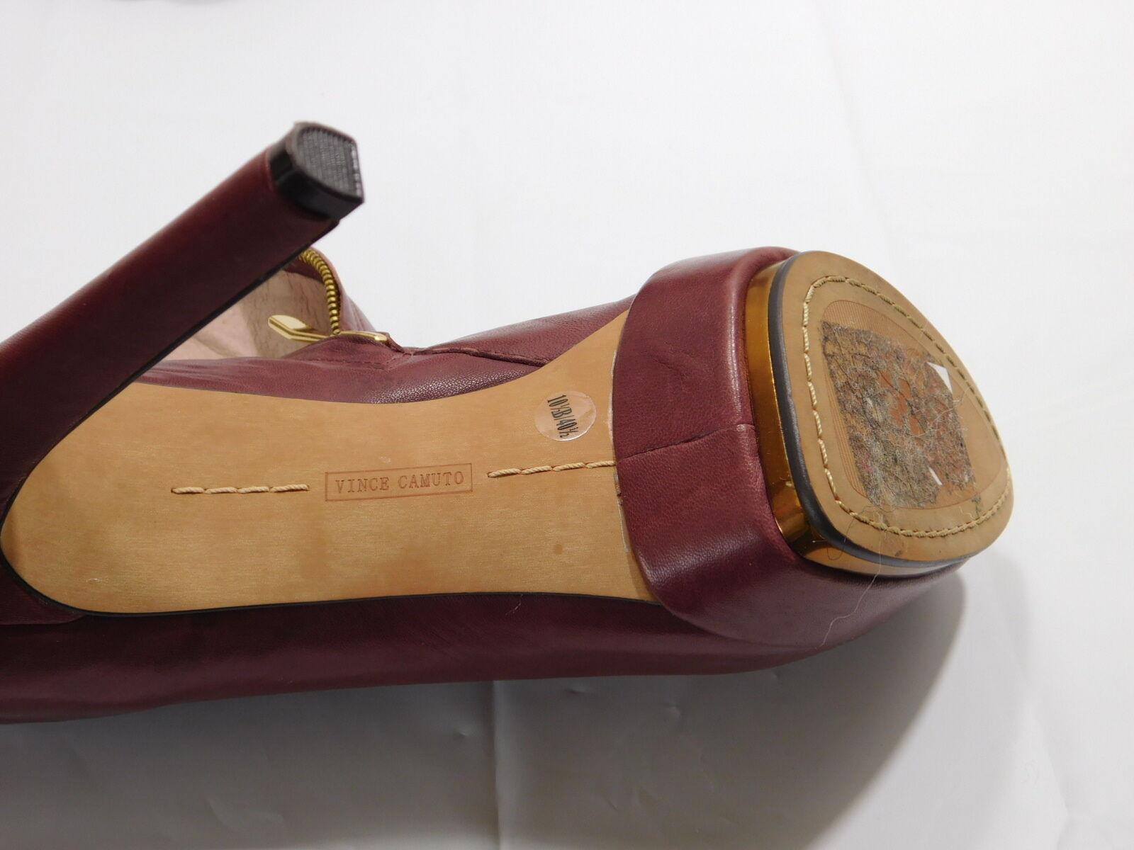 Vince Vince Vince Camuto Mauve Genuine Leder Platform Zip Booties....10.5 B US 9e2645