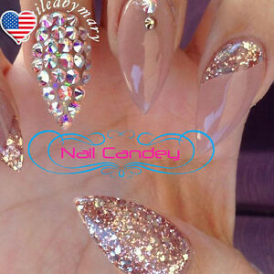 Image Is Loading Rose Gold Crystals For 3D Nail Art Swarovski