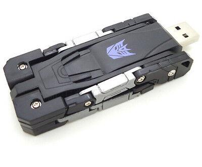 Black USB2.0 Memory Stick Flash Pen Drive Transformers model 4-32GB U disk