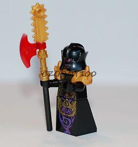 LEGO NINJAGO MINIFIGURE OVERLORD WITH WEAPON (70728 ) NEW
