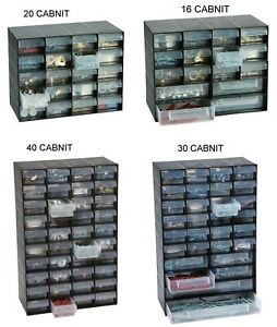 MULTI-STORAGE-DRAWER-CABINET-UNIT-NAIL-SCREW-CRAFT-BITS-ORGANISER-HOME-GARAGE