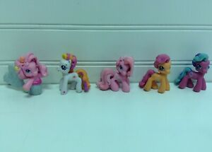 Hasbro My Little Pony G3 Ponyville Ponies Figures Lot Set Of 5 Ebay