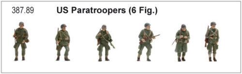 Paratroopers Neu Fertigmodell Artitec 387.89-1//87 US Fallschirmjäger