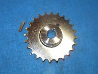 Bicycle Trike Silver Fixed Sprocket 24t 5/8 I.d. 3/16keyway With Key -