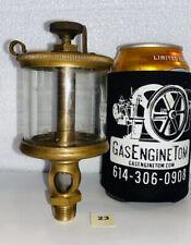 Lunkenheimer Royal No 3 Brass Oiler Hit Miss Gas Engine Vintage Antique