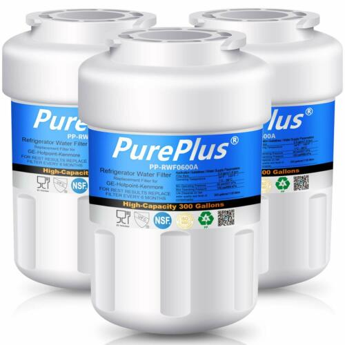 3Pack Refrigerator Water Filter Fits For GE GSS25GFXJBB GSS25TGMBWW WR02X11705
