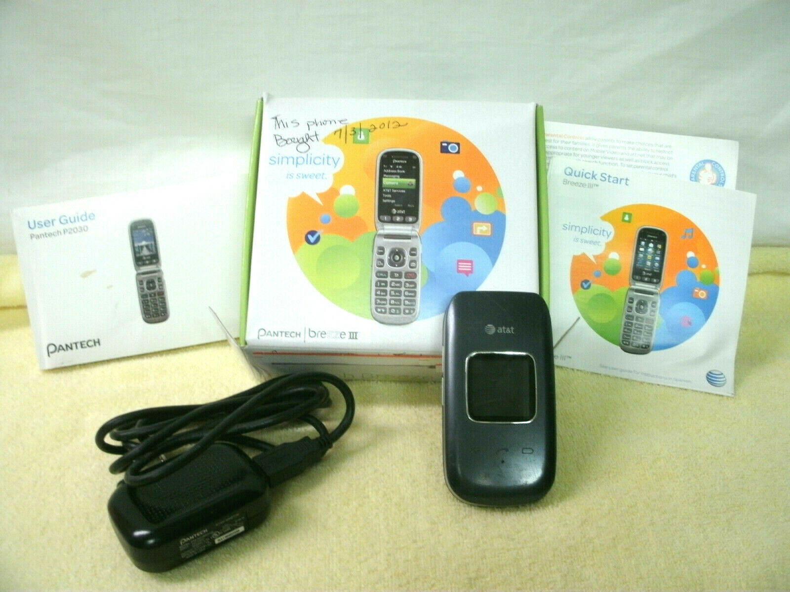 Pantech Breeze Iii Cell Phone Charger Replacement For Sale Online Ebay
