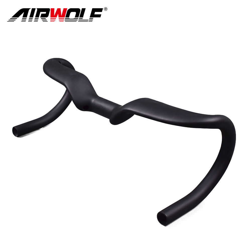 T800 carbon road bike handlebar 440mm matte carbon racing bicycle aero bend bar