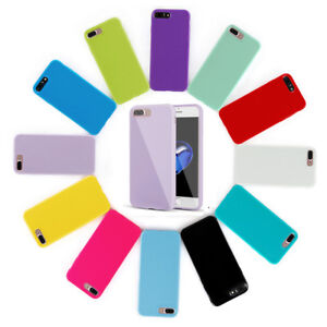 For-iPhone-8-Plus-7-Plus-Case-Ultra-Thin-Soft-Shockproof-Silicone-Gel-Rubber-TPU
