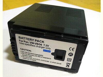BATERIA para Panasonic hdc-sd10 hdc-sd20 hdc-sd100