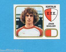 BELGIO-FOOTBALL 81-PANINI-Figurina n.176- DEVOLDER - K.V.KORTRIJK -Rec