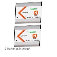 2x Kastar Battery For Sony Np-bn1 Dsc-w380 W510 W515 W520 W530 W550 W560 W570