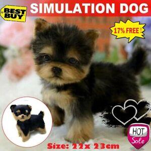 Pet-Yorkie-Dog-Simulation-Toy-Dog-Puppy-Lifelike-Stuffed-Companion